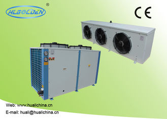 9~50kw Low Temperature Chiller With R404a For Cooling Meat Storage Room With High Efficient Compressor